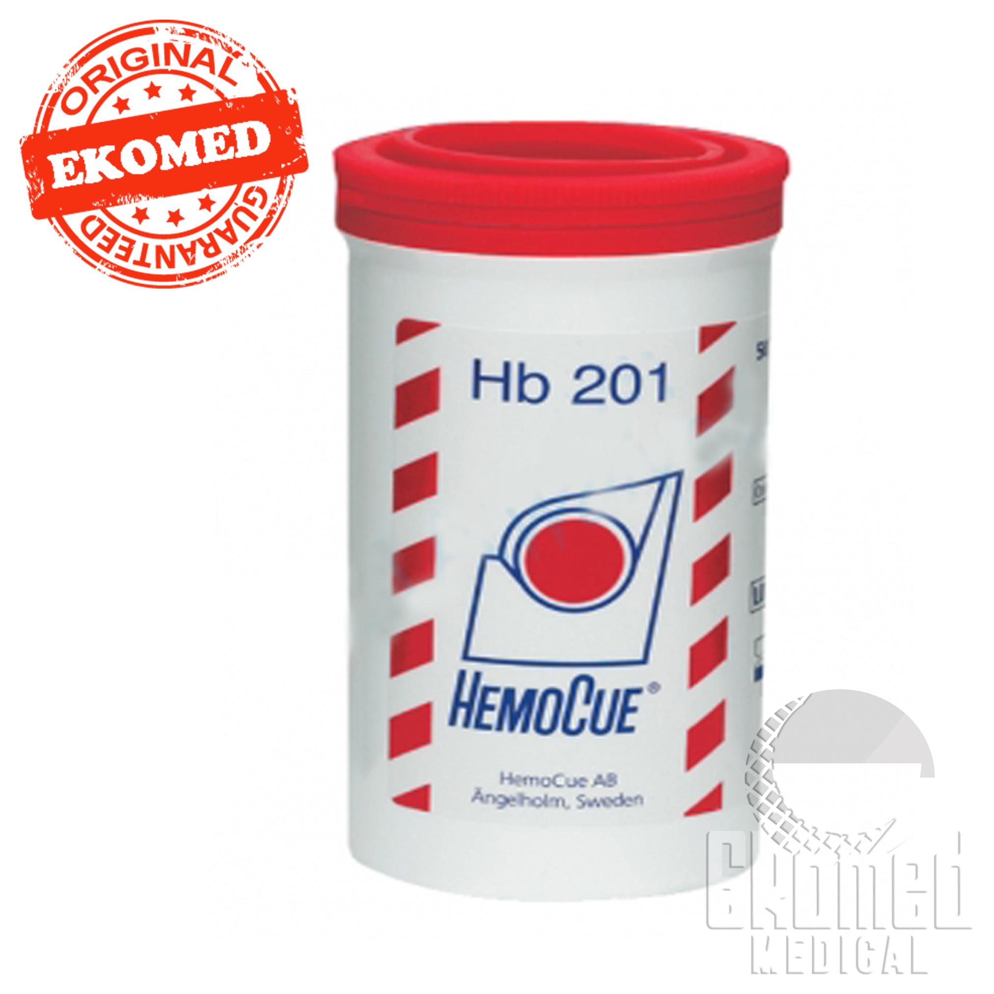 Hemocue Hb 201 Hemoglobin Strip 4x50 Microcuvettes Ekomed